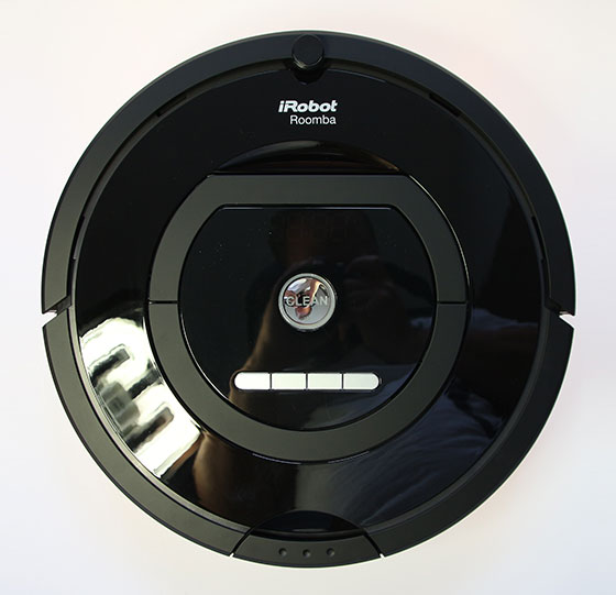 iRobot Roomba 770 Bovenkant