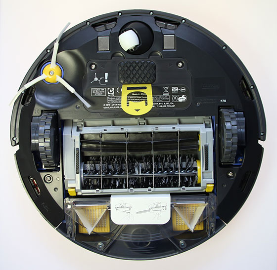 iRobot Roomba 770 Onderkant