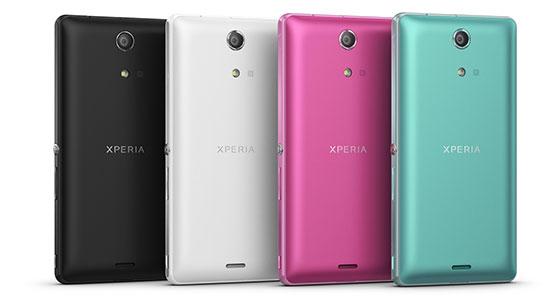 Sony Xperia ZR Kleuren