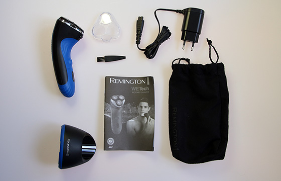 Remington-Wet-Tech-Rotary-Shaver-Unboxing