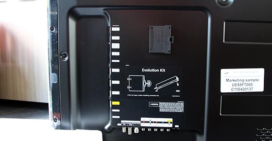 Samsung-UE55F7000-Evolution-Kit