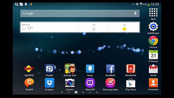 Galaxy-Tab3-Homescreen-Allshare-Cast