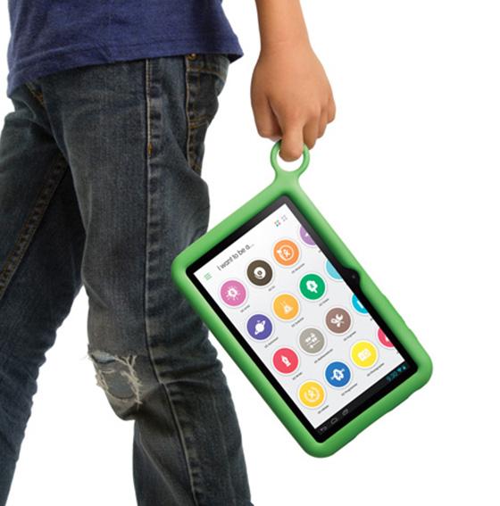 XO tablet handheld