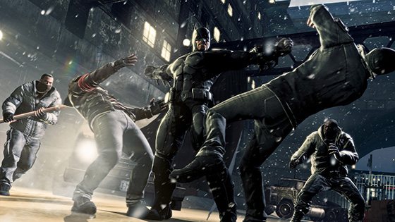 Batman Arkham Origins screen 01