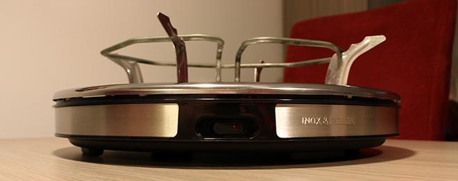 Tefal Gourmet Deco 8 Inox & Design zonder bakplaat