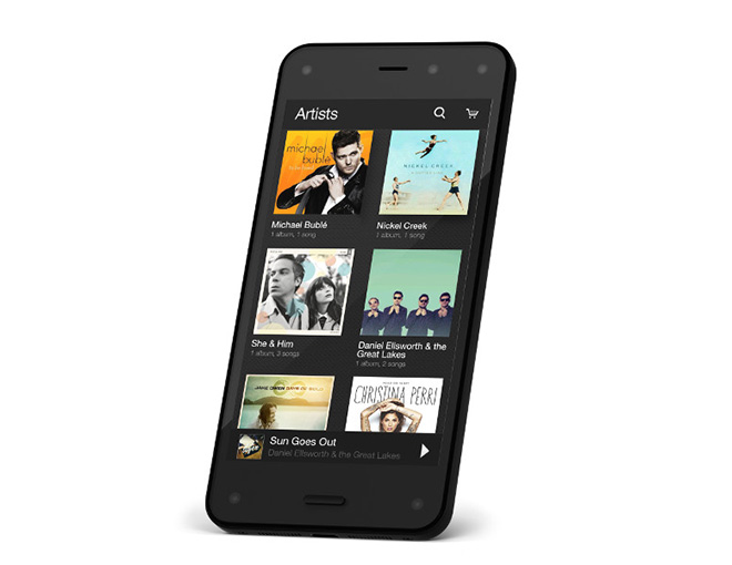Amazon Fire Phone Front