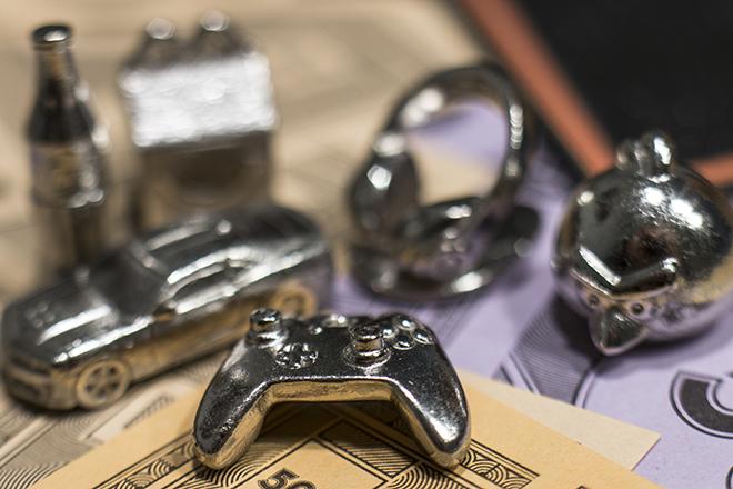 Hasbro Monopoly Empire Refresh Speelstukken
