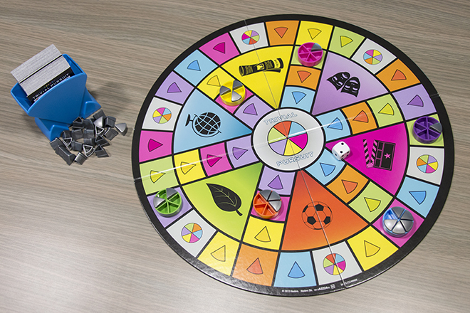 Hasbro Trivial Pursuit Party Opstelling