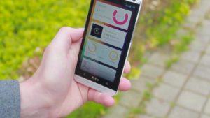 HTC smarthone met Homey app