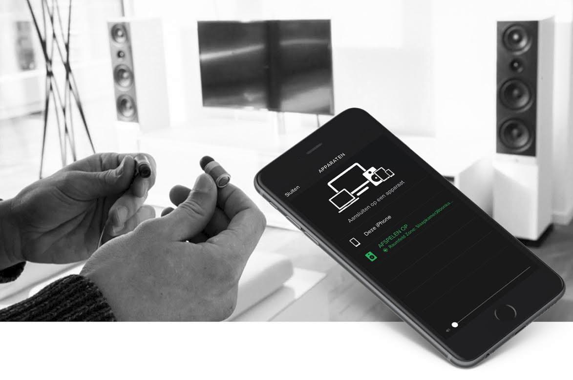 Spotify-Raumfeld-Zones