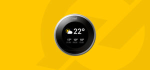Google Nest V2 Thermostaat