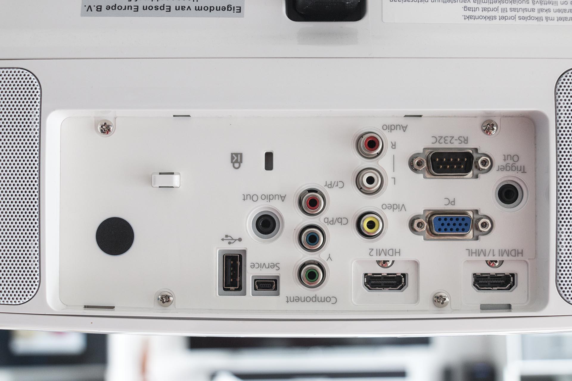 Epson EH-TW6600W Aansluitingen
