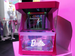 Mattel Barbie Hologram