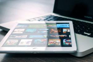 Netflix op een Apple iPad