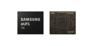 Samsung eUFS geheugen