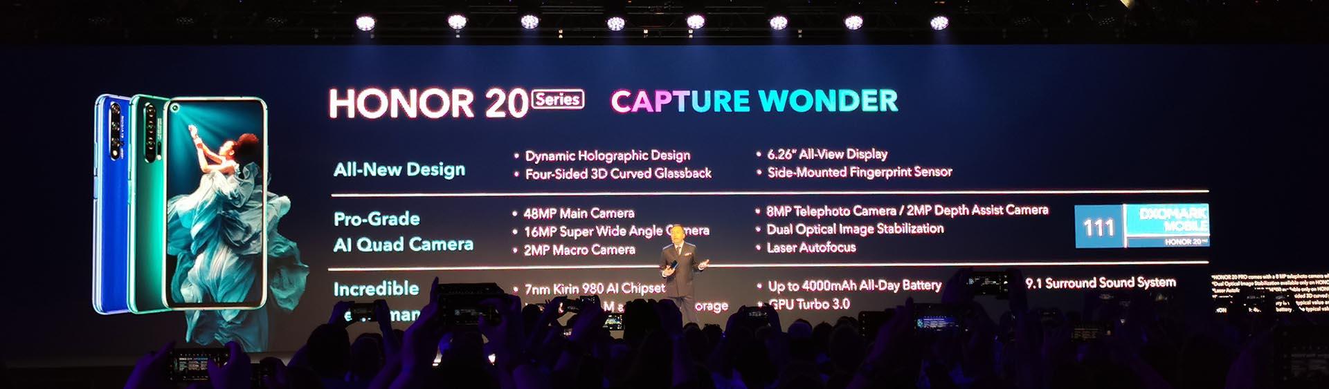 Honor 20 Series Specs