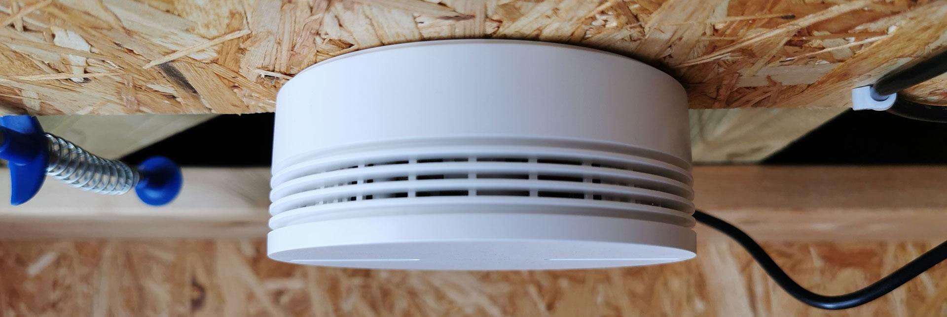 Netatmo Smart Smoke Alarm  Plafond Montage