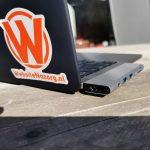 Minix Neo C-D met Apple MacBook Pro