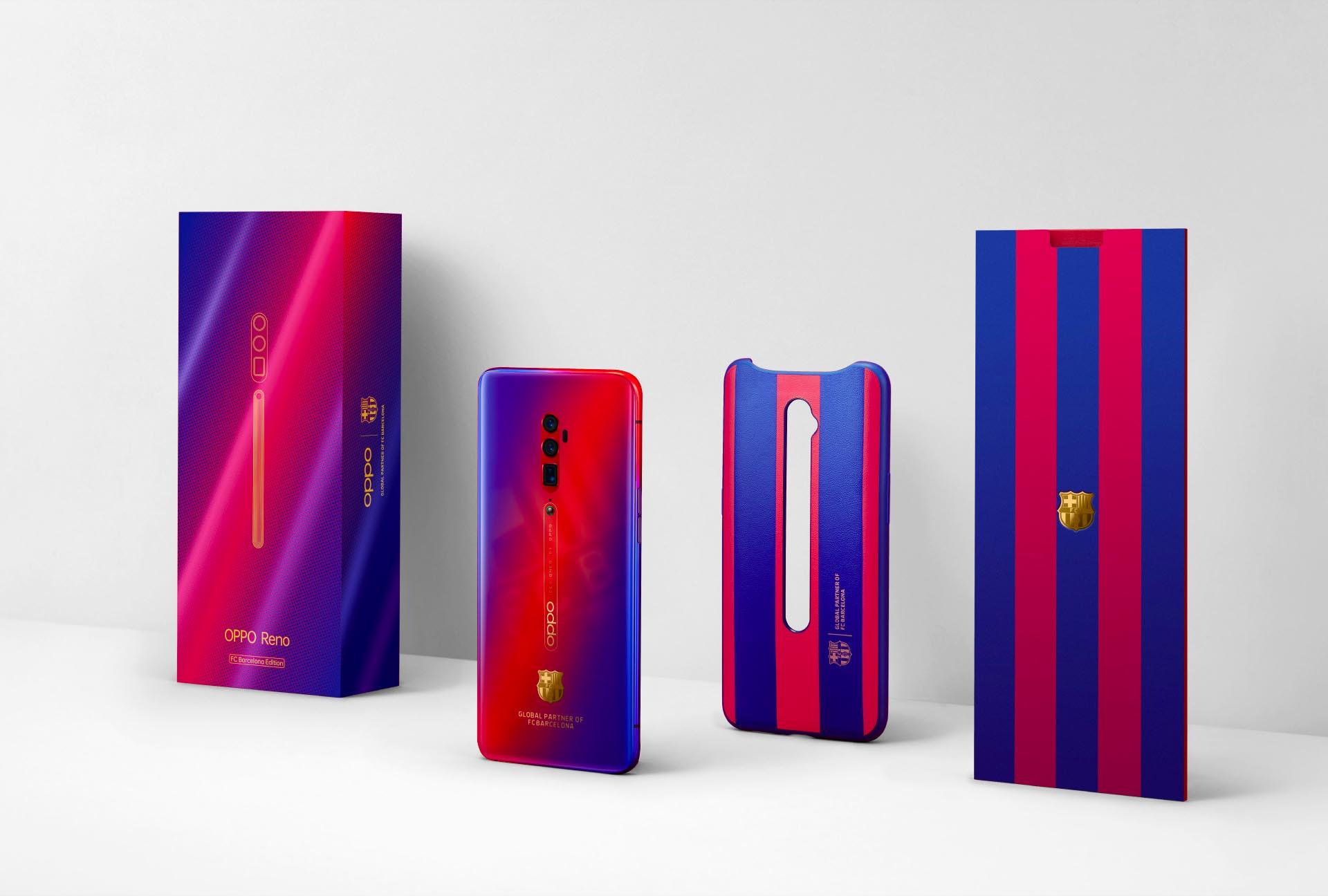 Oppo Reno 10x Zoom FC Barcelona Edition