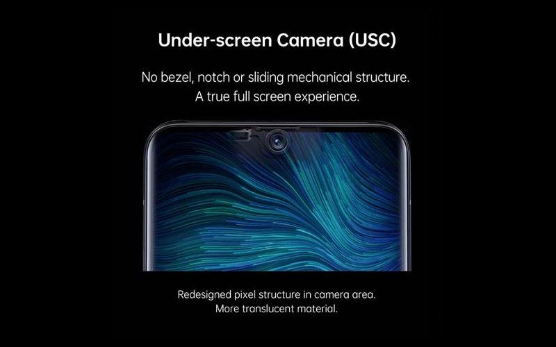 Oppo USC Under-Screen-Camera