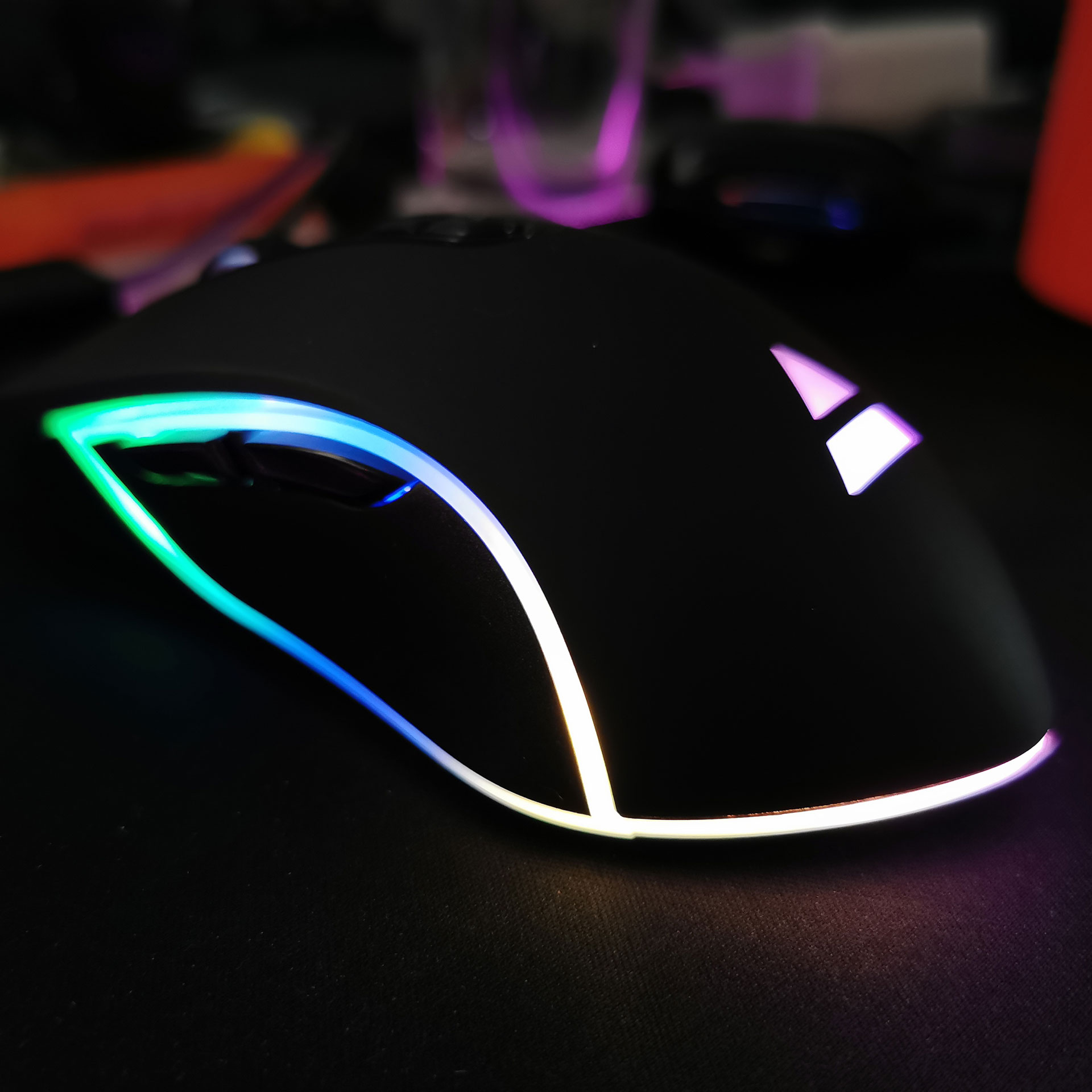 Ewent Play PL3301 RGB Gaming Muis Verlichting