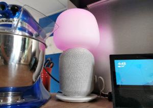 Ikea Sonos Symfonisk met Tradfri lamp