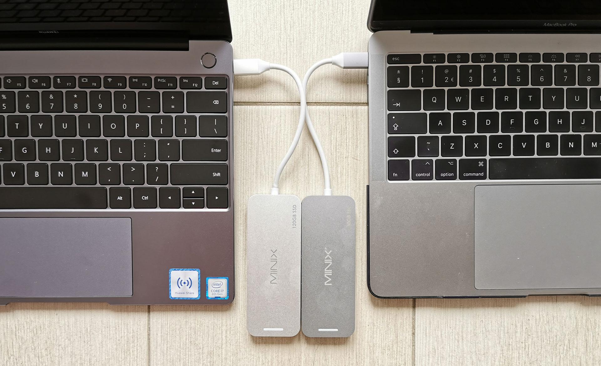 Minix USB-C Multiport Storage Hubs