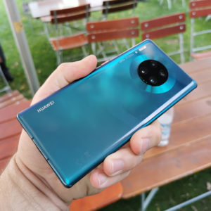 Huawei Mate 30 Pro Achterkant
