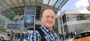 Arjan bij de Huawei Mate 30 Series Presentatie