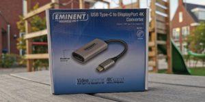Eminent Business Line USB Type-C to Displayport 4K Converter Verpakking