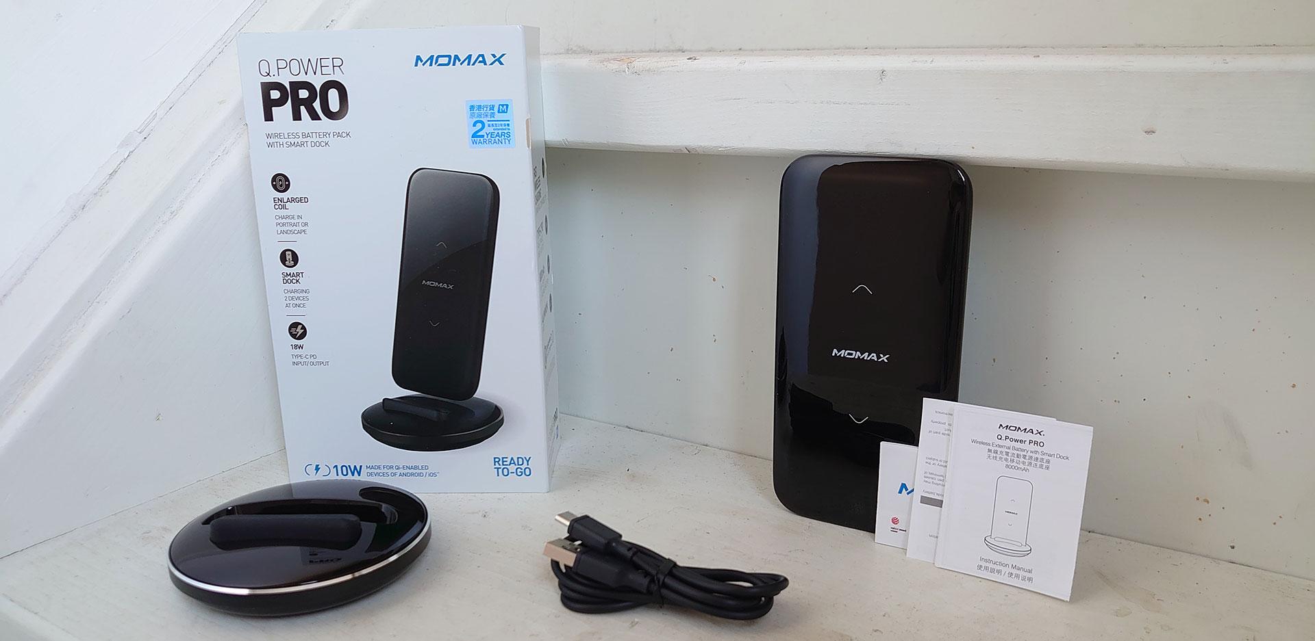 Momax Q Power Pro Uitgepakt