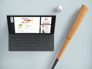 iPad Pro met GadgetGear erop