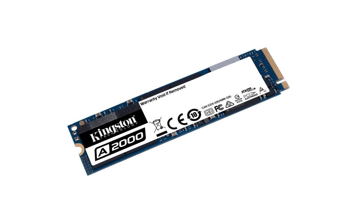 Kingston A2000 NVMe PCIe SSD