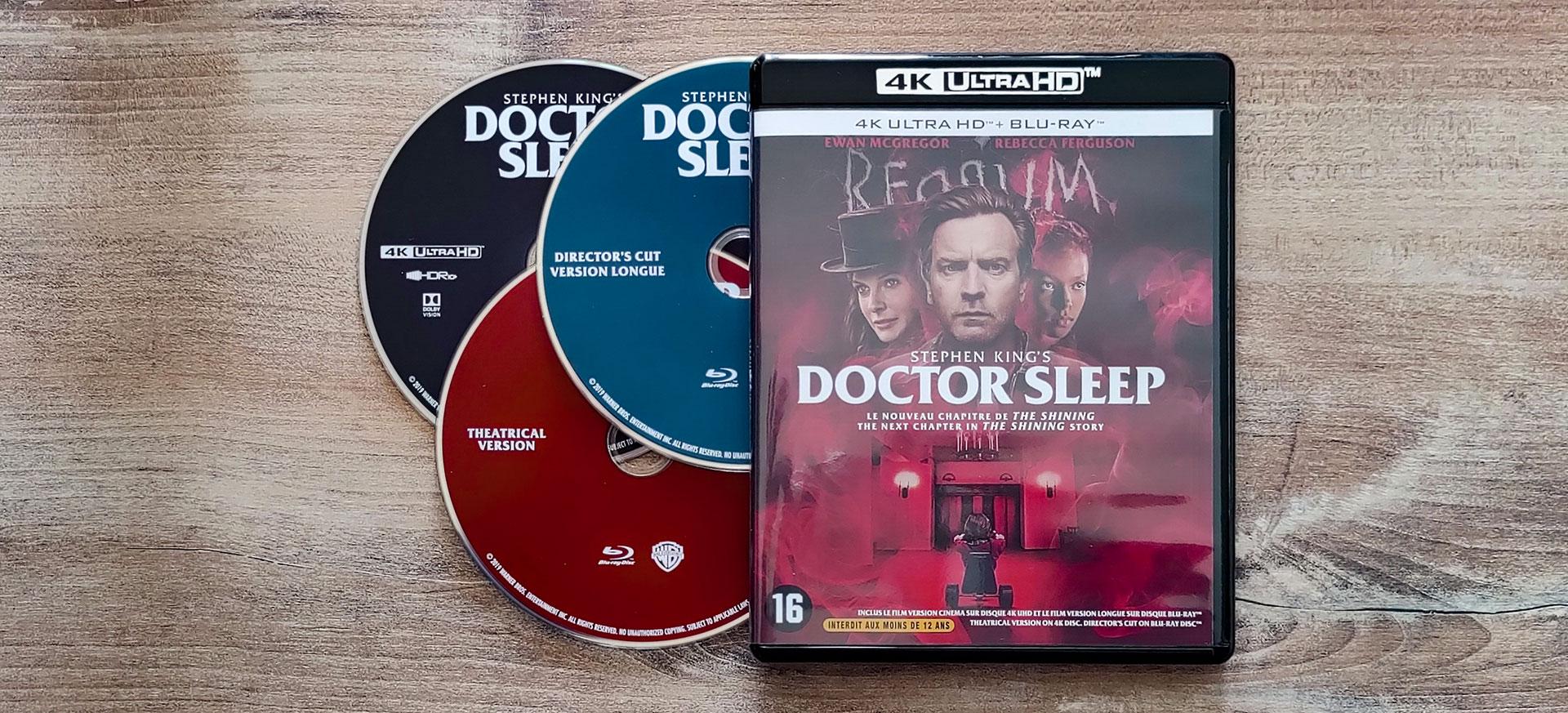 Doctor Sleep 4K Blu-Ray