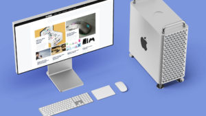 Mac Pro met GadgetGear op het display