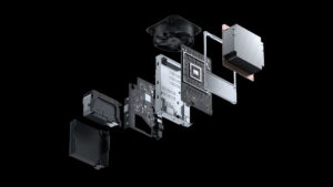 Microsoft Xbox Series X Exploded View