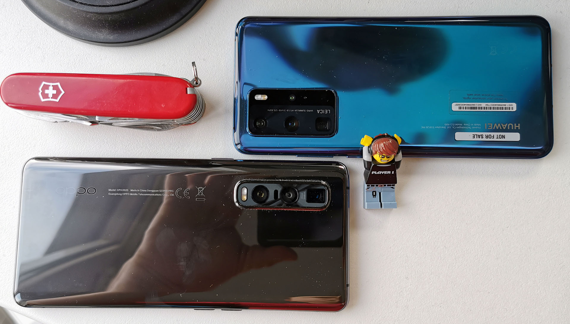 Oppo Find X2 Pro Huawei P40 Pro Camera Eiland
