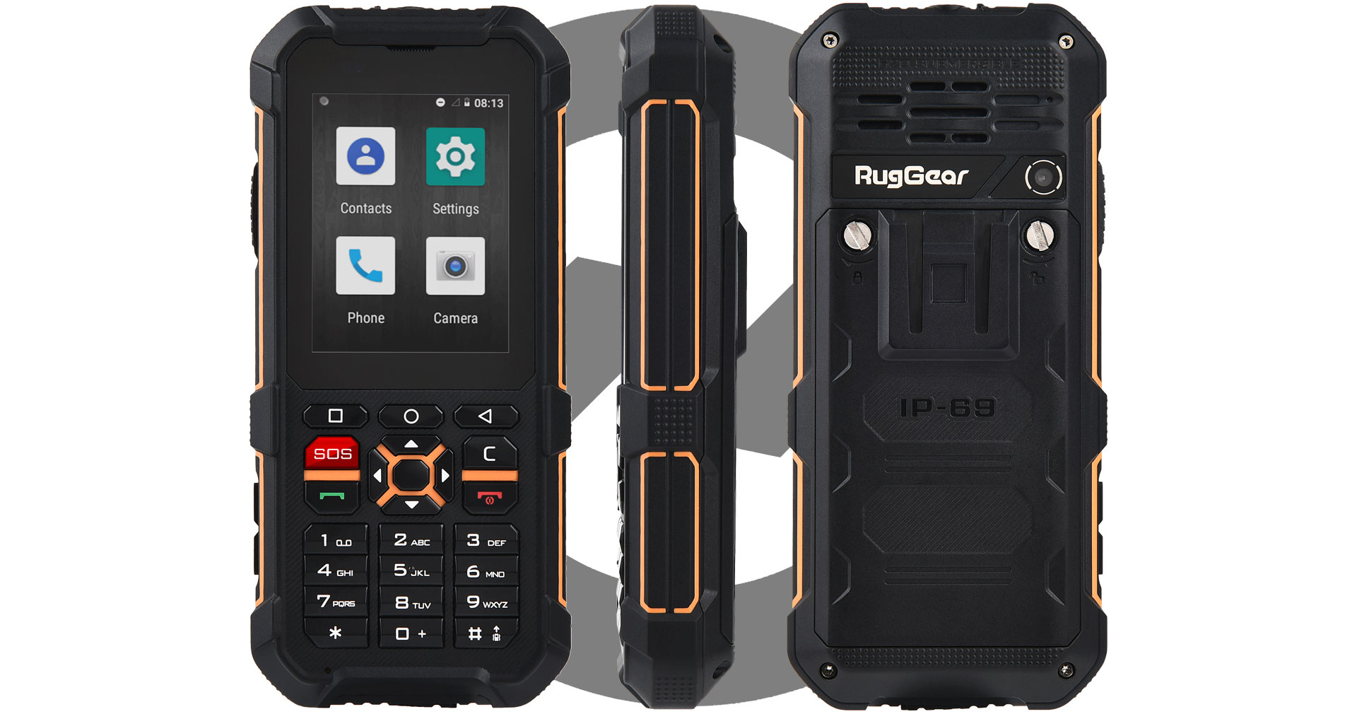 RugGear RG170 in detail