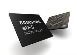 Samsung eUFS 3.1 Chips