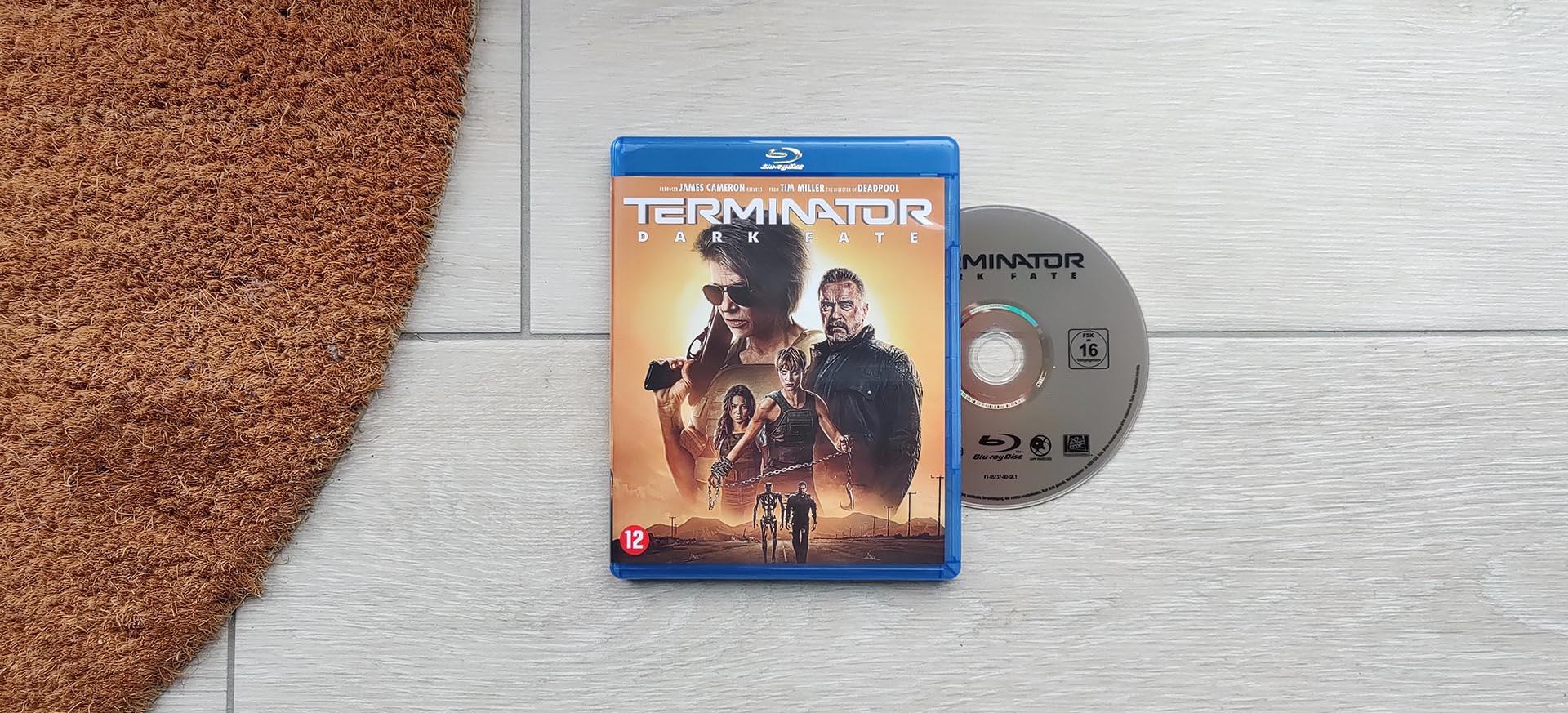 Terminator Dark Fate op Blu-Ray