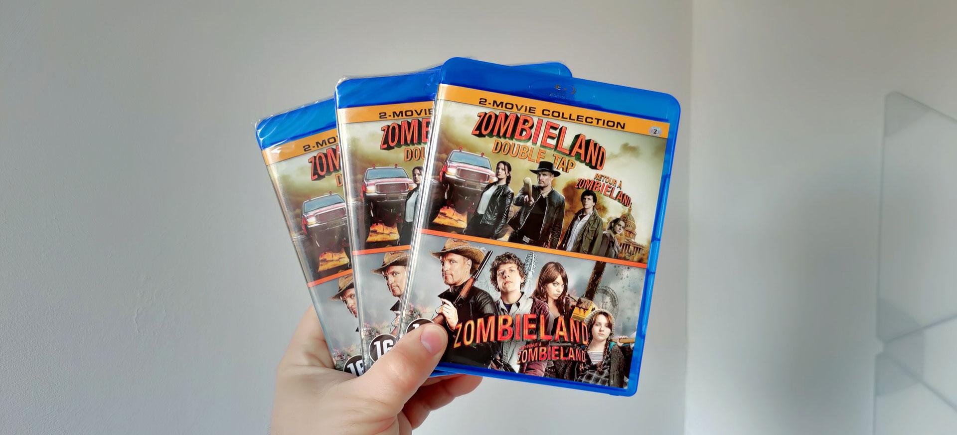 Zombieland en Zombieland Double Tap op Blu-Ray