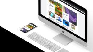 GadgetGear.nl op iMac en iPhone XR