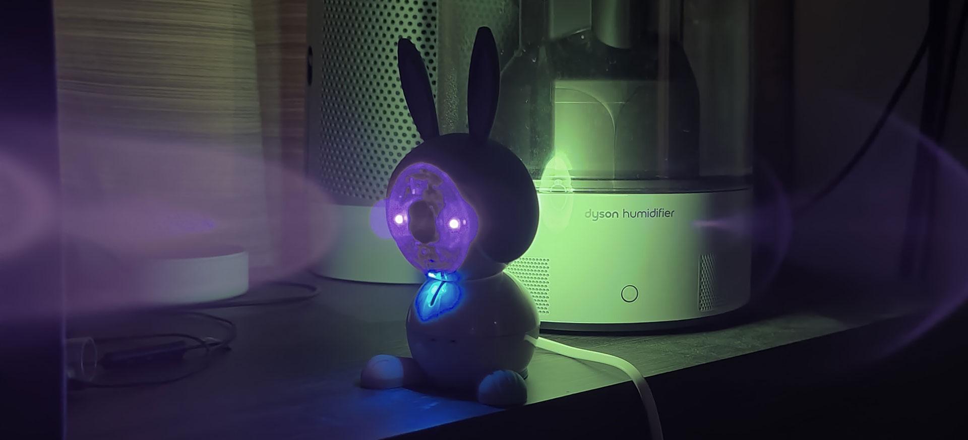 Nachtzicht met twee LED's