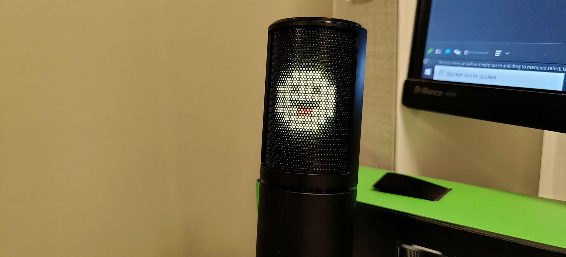 Razer Seiren Emote 8x8 LED