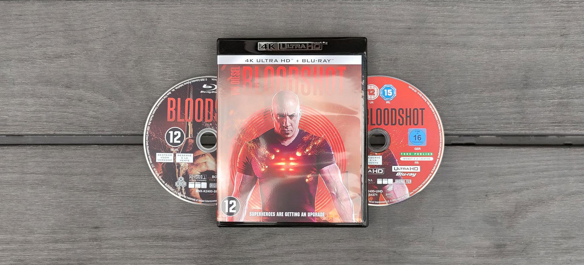 Bloodshot 4K Blu-Ray