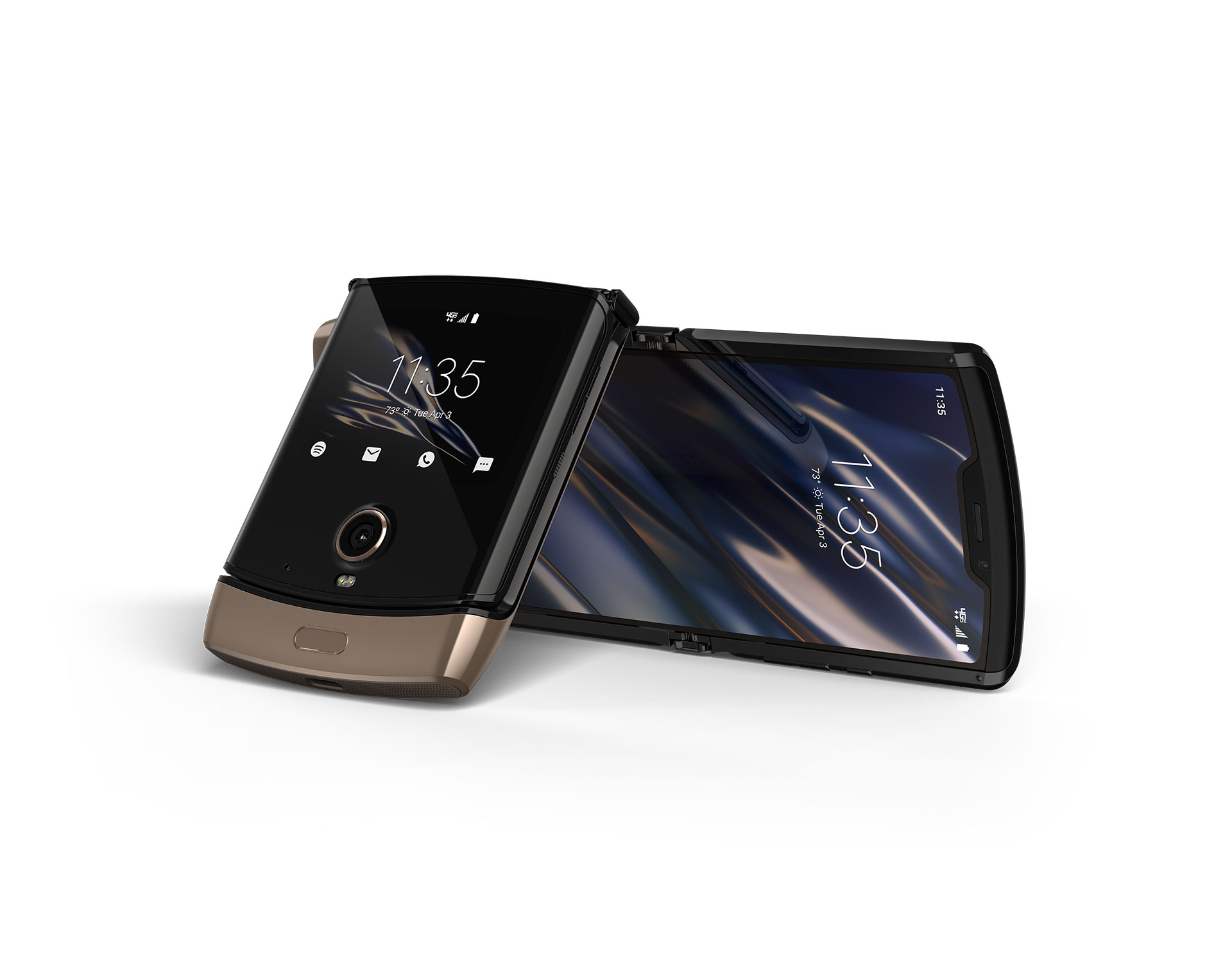 Motorola Razr Blush Gold Edition