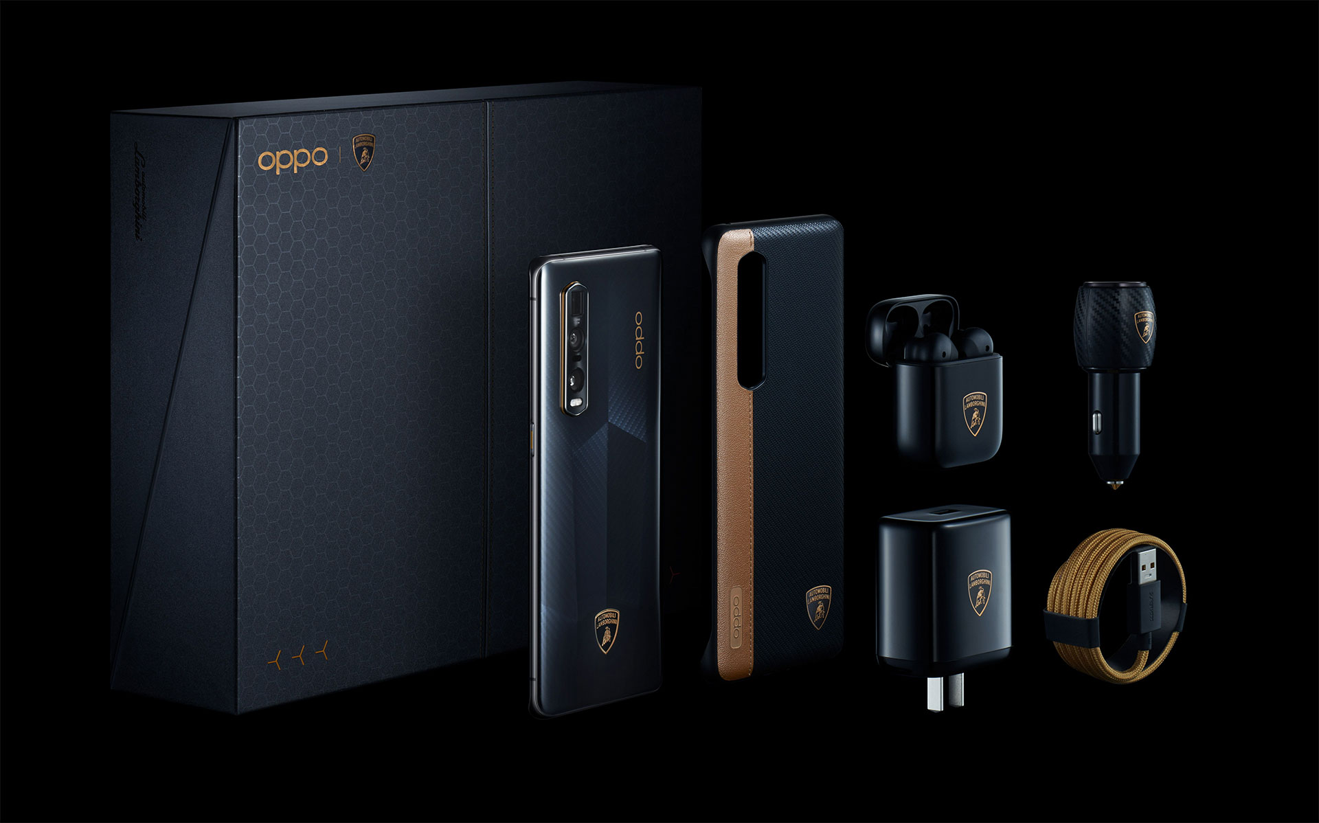 OPPO Find X2 Pro Automobili Lamborghini Edition Kit