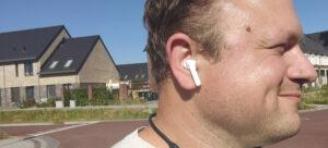 Arjan Olsder test de Oppo Enco W31