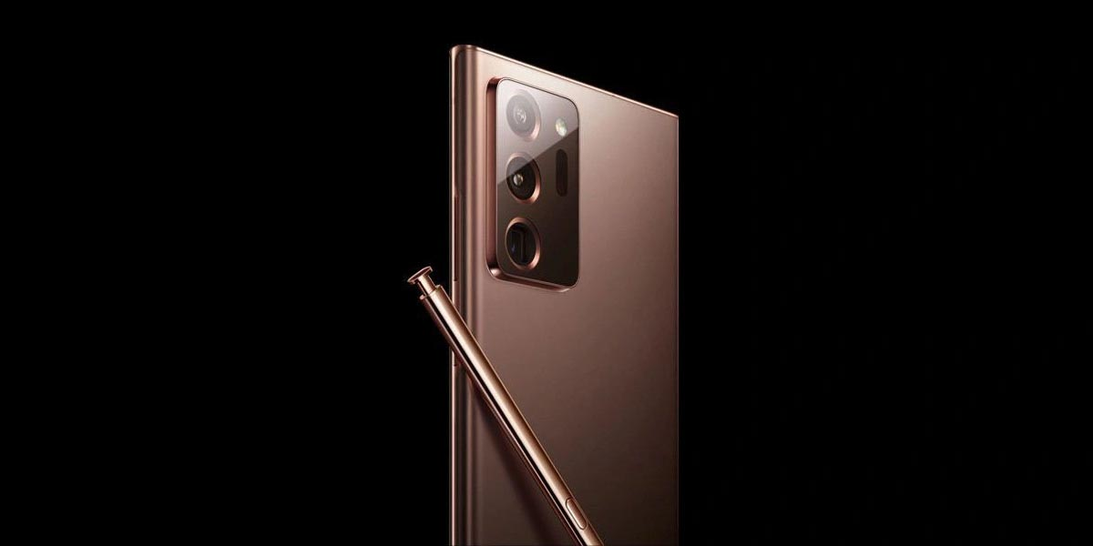 Samsung Galaxy Note20 Ultra Koperkleurig