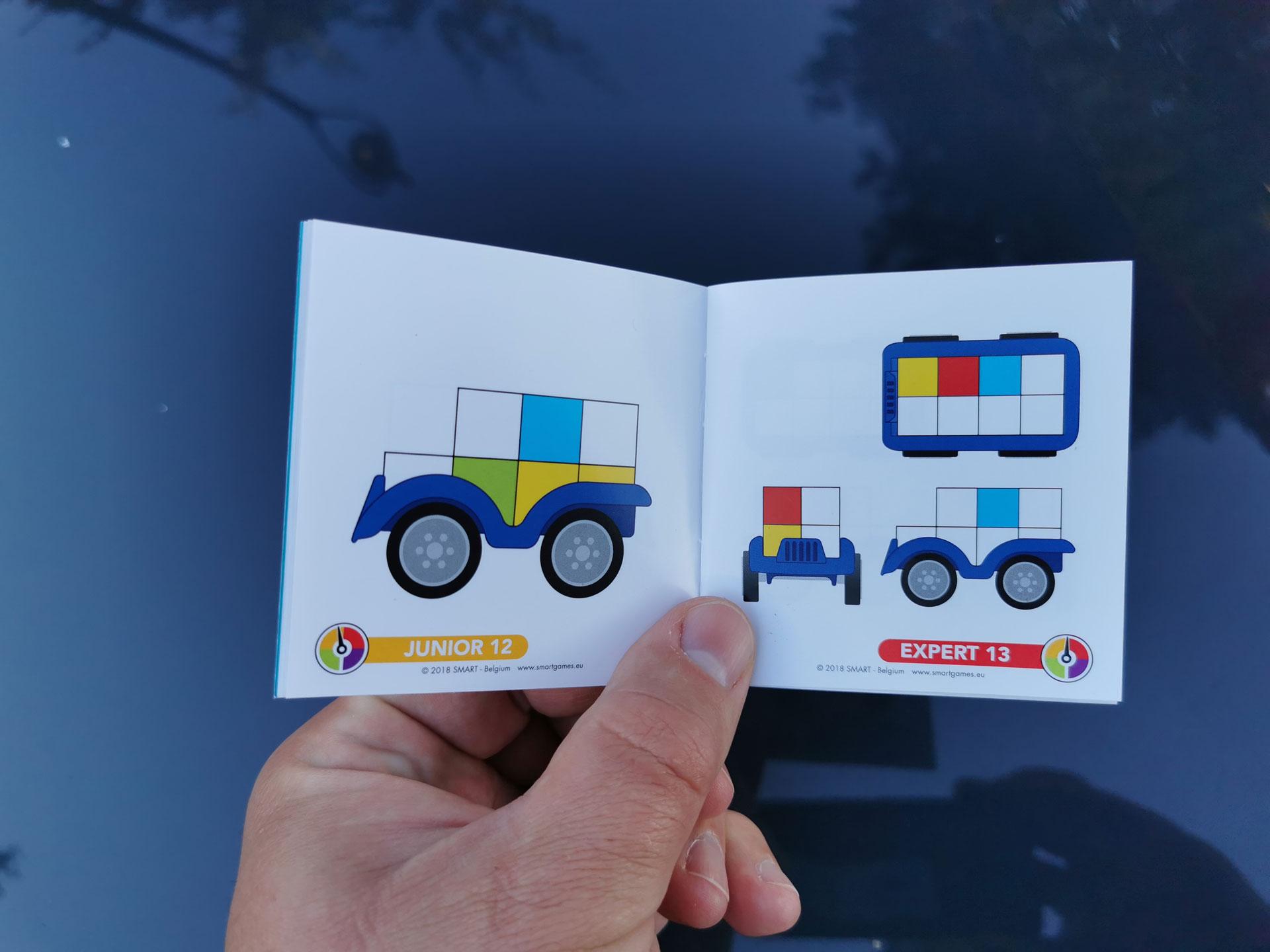 Smart Games SmartCar Mini boekje